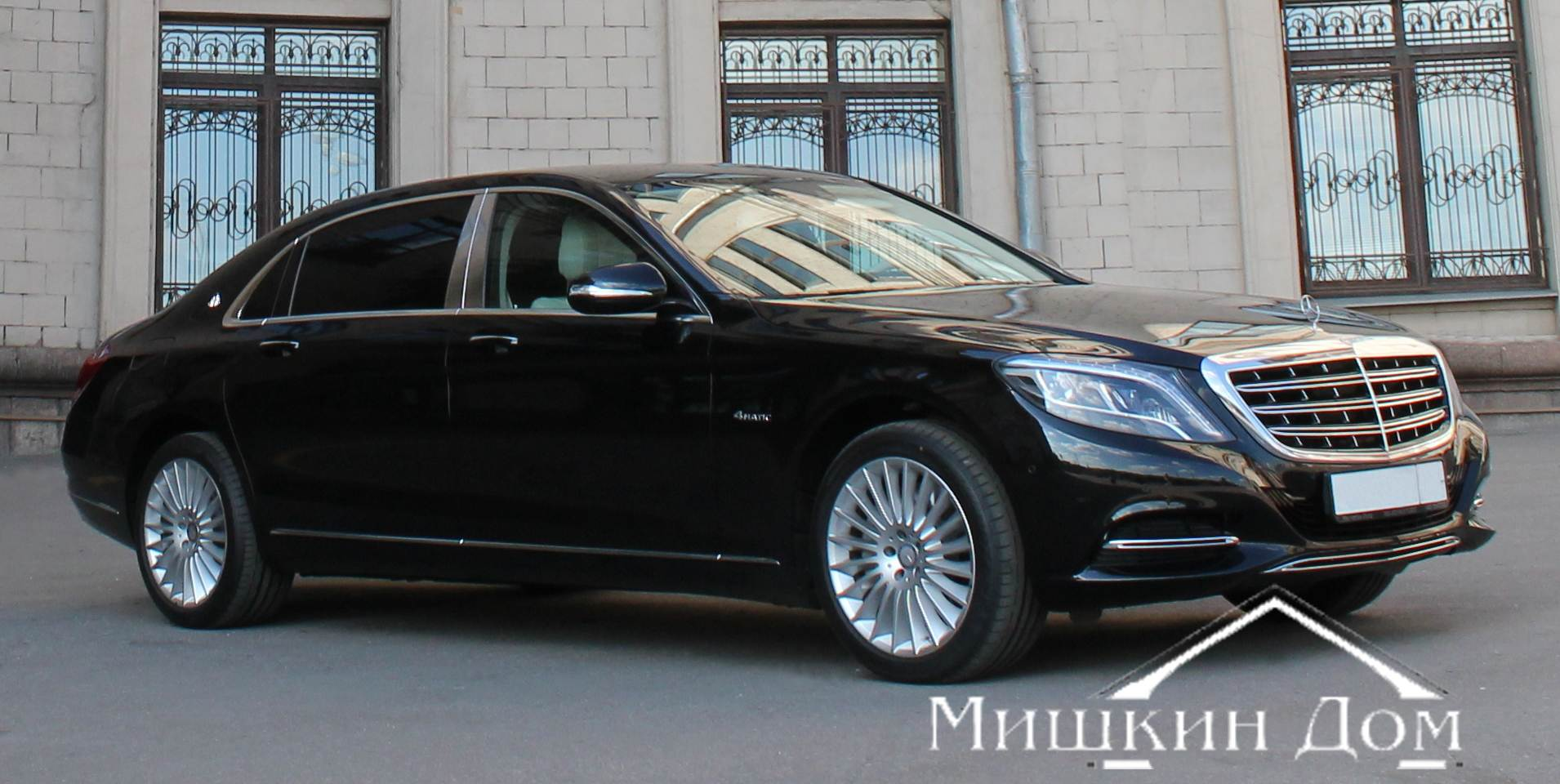 Mercedes-Maybach-S-klass ������
