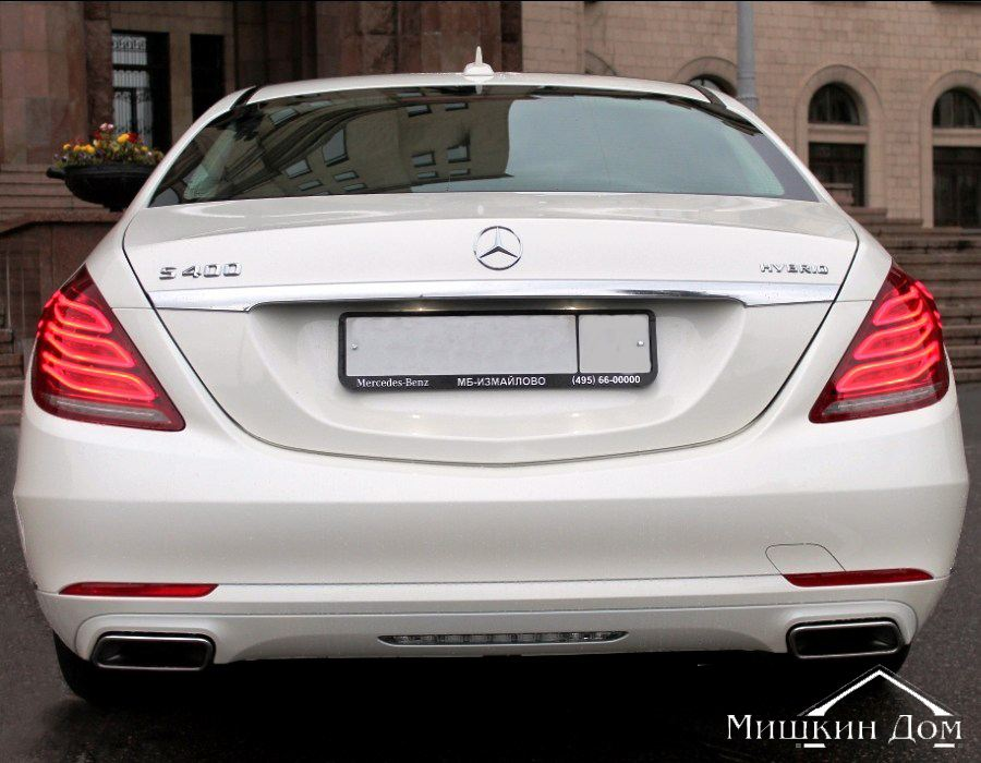mercedes_S_klass_W222 фото 2